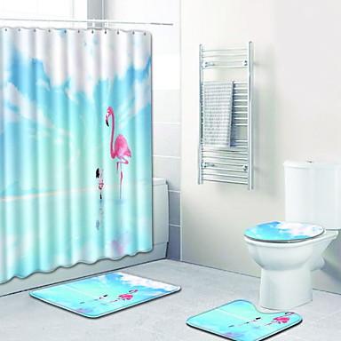 3 قطعات كاجوال مماسح الحمام 100g / m2 البوليستر الإمتداد حك حيوان غير منتظم تصميم جديد