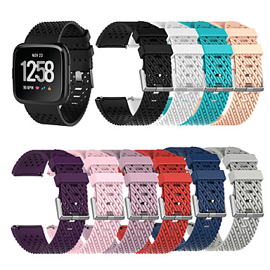 رخيصةأون أساور ساعات FitBit-حزام إلى Fitbit Versa فيتبيت عصابة الرياضة سيليكون شريط المعصم