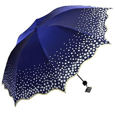 ستانلس ستيل للمرأة مشمس وممطر / تصميم جديد مظلة ملطية