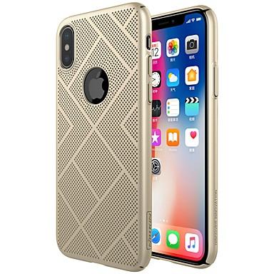 Nillkin Θήκη Za Apple iPhone X / iPhone XS Otporno na trešnju / Mutno Stražnja maska Jednobojni Tvrdo PC za iPhone XS / iPhone X