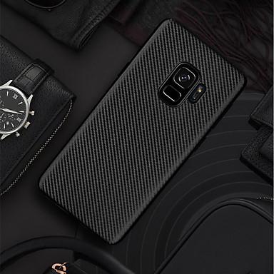 Θήκη Za Samsung Galaxy S9 / S9 Plus / S8 Plus Ultra tanko / Mutno Stražnja maska Jednobojni Mekano Carbon Fiber