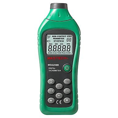 mastech ms6208b digitalni laserski foto tahometar okretaja brojilo bez kontakta brzina vrtnje tacometra 50rpm-99999rpm
