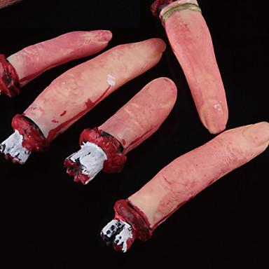 Odmor dekoracije Halloween Dekoracije Halloween / Halloween Zabavni Kreativan / Cool Tamno crvena 5pcs