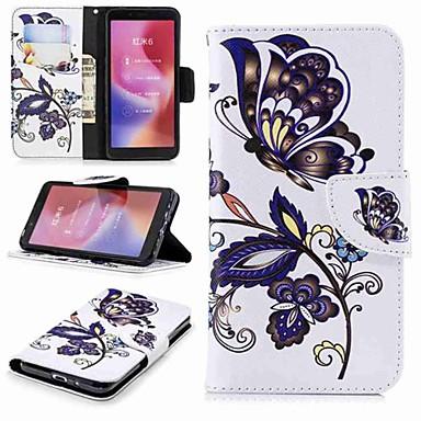 Θήκη Za Xiaomi Redmi Note 5A / Xiaomi Redmi Note 5 Pro / Xiaomi Redmi Note 4X Novčanik / Utor za kartice / sa stalkom Korice Rukav leptir Tvrdo PU koža
