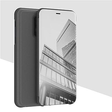 Θήκη Za OnePlus OnePlus 6 Novčanik / sa stalkom / Zrcalo Korice Jednobojni Tvrdo PU koža