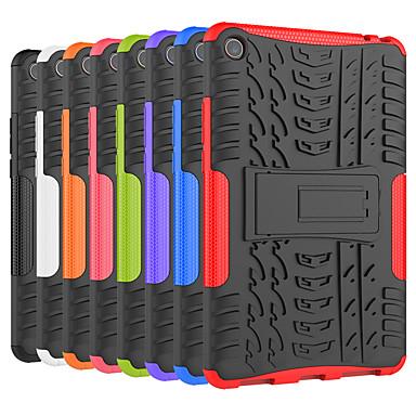 Недорогие Чехлы и кейсы для Xiaomi-Кейс для Назначение Xiaomi Xiaomi Tab 4 Защита от удара / со стендом Кейс на заднюю панель Плитка / броня Твердый ПК