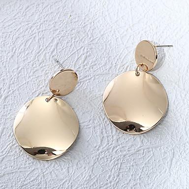Žene Retro Viseće naušnice - dame Jednostavan Europska Moda Jewelry Zlato Za Kauzalni Dnevno 1 par