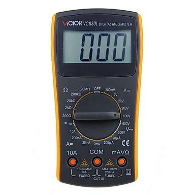 victor vc830l ručni profesionalni digitalni multimetar