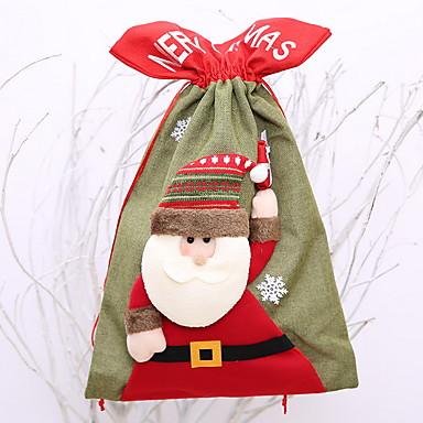 Kutije za ukrase Predbožićna Poliester Noviteti Božićni ukras