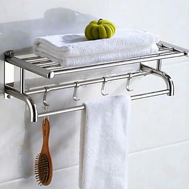 Kupaonska polica New Design / Cool Moderna Nehrđajući čelik / željezo 1pc Zidne slavine