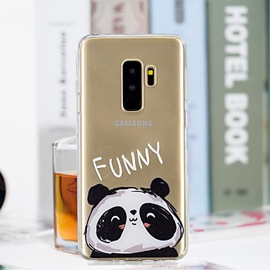 Θήκη Za Samsung Galaxy S9 / S9 Plus / S8 Plus Prozirno / Uzorak Stražnja maska Panda Mekano TPU
