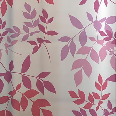 فيلم نافذة وملصقات زخرفة منقوشة ورد / بسيط PVC تصميم جديد / كوول