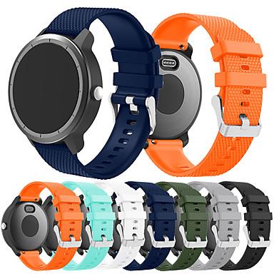 Недорогие Аксессуары для мобильных телефонов-Ремешок для часов для Vivoactive 3 Garmin Спортивный ремешок силиконовый Повязка на запястье