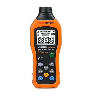 ms6208b 50-250mm beskontaktno mjerenje digitalni tahometar s 100 podataka zapisivanja podataka