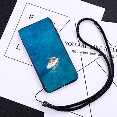 Θήκη Za Apple iPhone X / iPhone 8 Plus / iPhone 8 Protiv prašine Stražnja maska Crtani film Tvrdo Kaljeno staklo