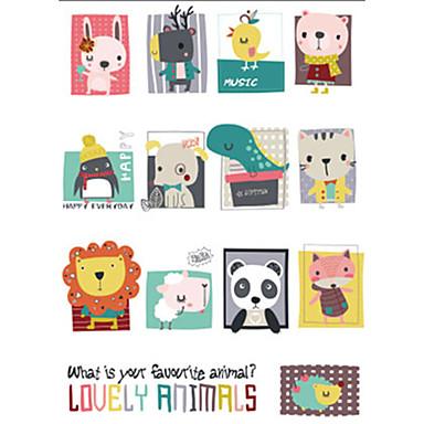 Dekorativne zidne naljepnice - Zidne naljepnice / Naljepnice za zidne zidove Životinje Dječja soba