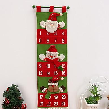 Božićni ukrasi Odmor Tekstil Kvadrat Noviteti Božićni ukras