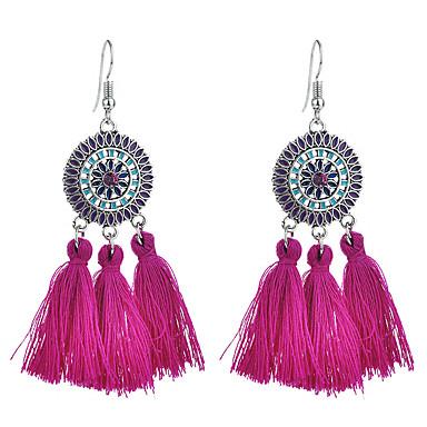 cheap Earrings-Women's Drop Earrings Tassel Classic Sunburst Spike Ladies Tassel Boho Earrings Jewelry Coffee / Green / Blue For Evening Party Festival 1 Pair