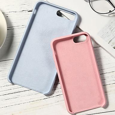 Недорогие Кейсы для iPhone 6 Plus-Кейс для Назначение Apple iPhone XS / iPhone XR / iPhone XS Max Защита от удара Кейс на заднюю панель Однотонный Мягкий Силикон
