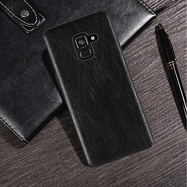 Θήκη Za Samsung Galaxy S9 / S9 Plus / S8 Plus Ultra tanko / Mutno Stražnja maska Jednobojni Mekano PU koža