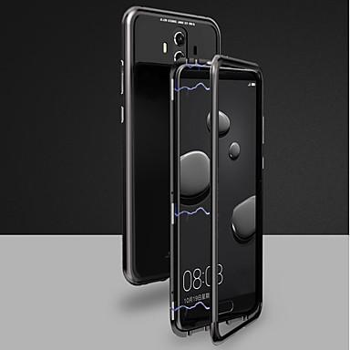 voordelige Huawei Mate hoesjes / covers-hoesje Voor Huawei Huawei Honor 10 / Mate 10 / Mate 10 pro Magnetisch Volledig hoesje Effen Hard Gehard glas