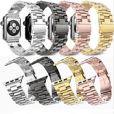 Недорогие Аксессуары для смарт-часов-SmartWatch Band для Apple Watch серии 4/3/2/1 яблоко бабочка пряжка из нержавеющей стали ремешок