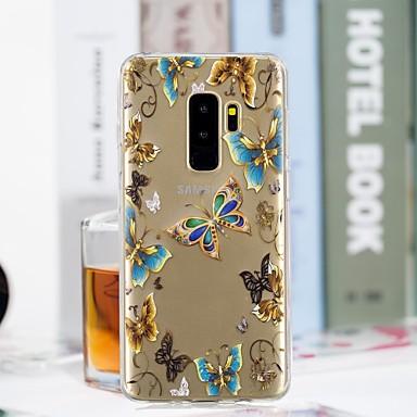 Θήκη Za Samsung Galaxy S9 / S9 Plus / S8 Plus Prozirno / Uzorak Stražnja maska Rukav leptir Mekano TPU