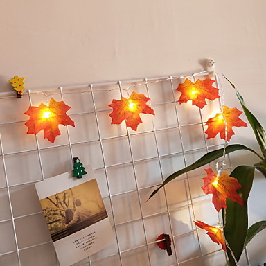 1.5m Žice sa svjetlima 10 LED diode Toplo bijelo Cool 3 V 1pc