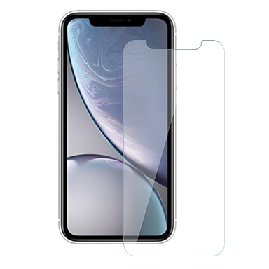 abordables Protectores de Pantalla para iPhone-AppleScreen ProtectoriPhone XR Dureza 9H Protector de Pantalla Frontal 1 pieza Vidrio Templado