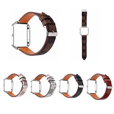 Pogledajte Band za Fitbit Blaze Fitbit Kožni remen Prava koža Traka za ruku