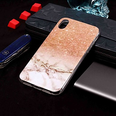 Θήκη Za Apple iPhone XS / iPhone XR / iPhone XS Max Uzorak Stražnja maska Mramor Mekano TPU