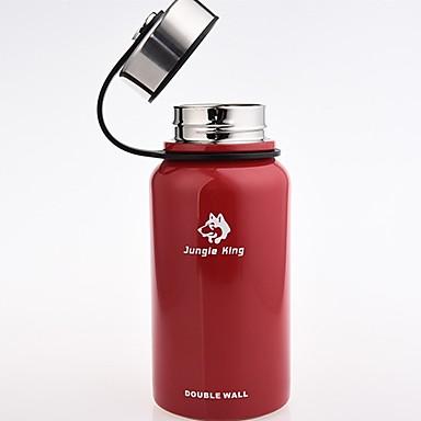 Jungle King Čaša 0.61 L Vakuum kup zadržavanja topline za Nehrđajući čelik Vanjski Crn Crvena Zelen