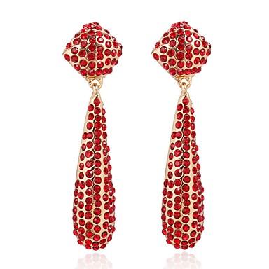 Žene Viseće naušnice Long dame afrički Naušnice Jewelry Crn / Zlatan / Svjetlosmeđ Za Party Dar 1 par