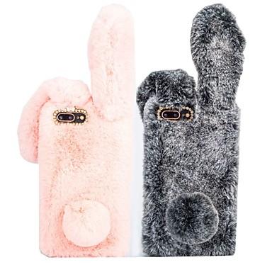Недорогие Кейсы для iPhone 7-Кейс для Назначение Apple iPhone XS / iPhone XR / iPhone XS Max Защита от удара Кейс на заднюю панель Животное Твердый текстильный