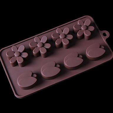 أدوات خبز هلام السيليكون جميل كعكة / بسكويت / تبرعم قوالب الكيك 1PC