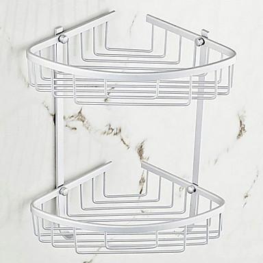 رف الحمام تصميم جديد / كوول معاصر الالومنيوم 1PC مثبت على الحائط