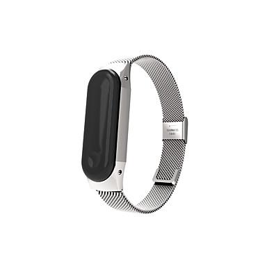voordelige Smartwatch-accessoires-Horlogeband voor MiBand Xiaomi Sportband Metaal Polsband