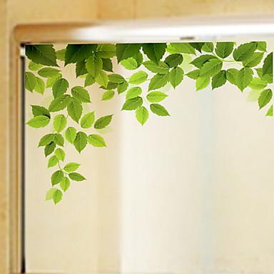 billige Vindusbehandling-Vindufilm og klistremerker Dekorasjon Moderne Blomst PVC Vindusklistremerke