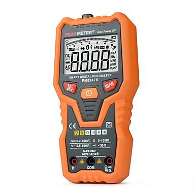 pametni digitalni multimetar peakmeter pm8247s auto raspon profesionalni voltmetar s ncv frekvencije testera