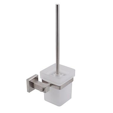 Držač wc četke New Design / Cool Moderna Nehrđajući čelik / željezo 1pc Toilet Brush Holder Zidne slavine