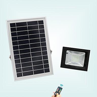 1pc 20 W LED reflektori Vodootporno / Daljinski upravljano / Sunce Hladno bijelo 3.7 V Vanjska rasvjeta / Dvorište / Vrt 56 LED zrnca / Zatamnjen