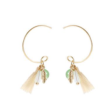 Žene Viseće naušnice dame Jednostavan Moda Naušnice Jewelry Zlato Za Kauzalni Dnevno 1 par