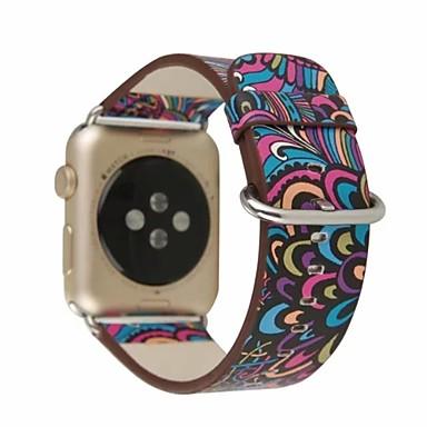 prava koža / Poli uretanska Pogledajte Band Remen za Apple Watch Series 4/3/2/1 Ljubičasta 23 cm / 9 inča 2.1cm / 0.83 Palac