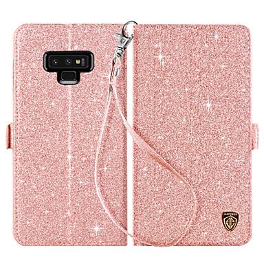Θήκη Za Samsung Galaxy Note 9 Novčanik / Utor za kartice / sa stalkom Korice Jednobojni Tvrdo PU koža / PC