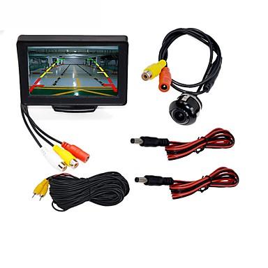 LITBest WG4.3T-4LED 4.3 inch TFT-LCD 480TVL 480p 0.6cm boja CMOS Žičano 120 stupnjeva 1 pcs 120 ° 4.3 inch Rear View Camera / Auto Reversing Monitor / Komplet za automobil stražnji pogled Vodootporno