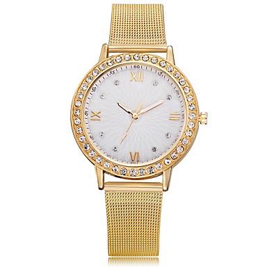 Žene Luxury Watches Ručni satovi s mehanizmom za navijanje Diamond Watch Kvarc Srebro / Zlatna / Rose Gold New Design Casual sat imitacija Diamond Analog dame Moda Elegantno - Zlato Pink Rose Gold