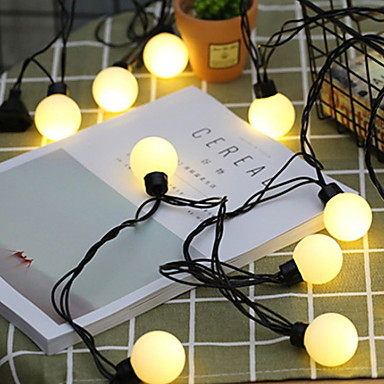5m Žice sa svjetlima 20 LED diode Toplo bijelo Ukrasno 220-240 V 1set