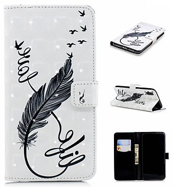 Θήκη Za Apple iPhone XS / iPhone XR / iPhone XS Max Novčanik / Utor za kartice / sa stalkom Korice Perje Tvrdo PU koža
