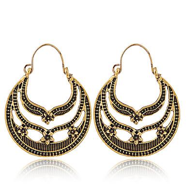 Žene Viseće naušnice Vintage Style Cvijet dame Vintage Europska Moda Naušnice Jewelry Zlato / Pink Za Kauzalni Dnevno 1 par