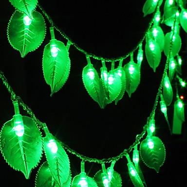5m Žice sa svjetlima 40 LED diode Zeleno Ukrasno 220-240 V 1set